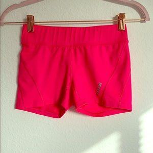 Reebok shorts size XS pink bike workout
